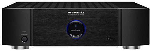 Marantz MM7025 Stereo Power Amplifier | 2-Channel | 140 Watts per Channel | Both Single-Ended RCA and Balanced XLR Inputs | Black