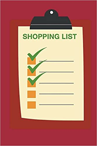 my shopping list notebook plan your shopping trips with this