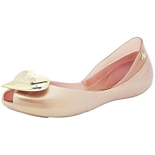 2f6fed1bb4d best Vivienne Westwood + Melissa Queen 17 Womens Shoes Gold ...