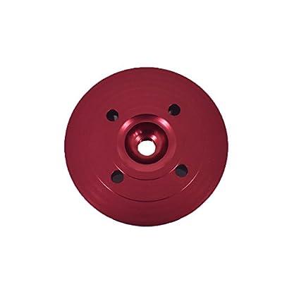 JRL CNC Cylinder Head for Racing 66cc/80cc Engine (red): Automotive