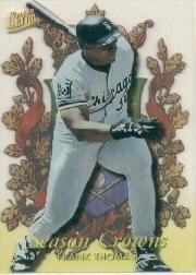 1996 Ultra Season Crowns #9 Frank Thomas Near Mint/Mint