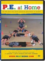 P.E. at Home ~ (Henry Bunn 2010) The DVD That Brings Physical Education Home School Fight Childhood Obesity Kids Exercise Fitness Weight Loss Elementary Gym