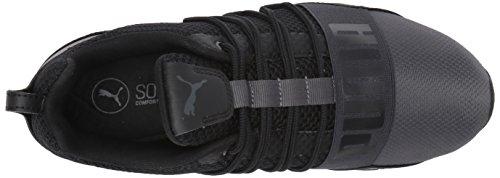 Puma Heren-cel Reguleren Winterized Mesh Sneaker Dark Shadow-puma Zwart