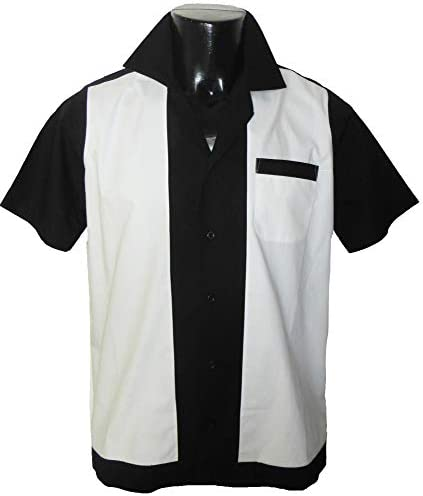 1950s/1960s Rockabilly, Bowling, Retro, Vintage Mens Shirt ...