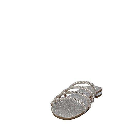 Guess Silver Donna Mainapps Sandalo Grigio Flril1lel03 Basso FqA6Fgw