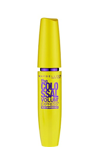 اسعار Maybelline Makeup Volum' Express The Colossal Waterproof Mascara, Glam Black Mascara, 0.27 fl oz