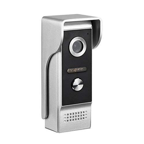 (Tharv❤7 Inch Color LCD Video Door Phone Doorbell Intercom System Night Vision Camera Black)