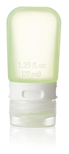 Humangear GoToob, pequeño (1,25 oz), azul cielo, Verde lima (Lime Green), Small (1.25 oz)