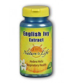 Nature's Life English Ivy Leaf Extract Tablets, 136 Mg, 90 Count