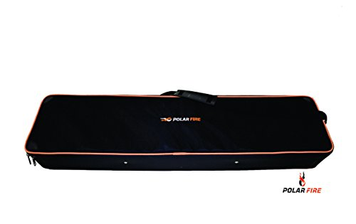 HT Polar Fire Rectangular Soft Sided Hard Tackle Case with Adjustable Compartments