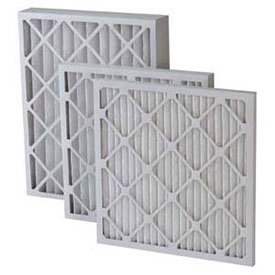 Filtration Manufacturing 0208-20241 Pleated Filter 20 W x 24 H x 1 D Lot of 12 Merv 8 Standard Capacity