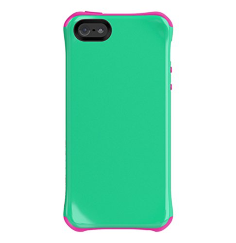 - Ballistic AP1085-A035 Aspira Series Case for iPhone 5 - 1 Pack - Retail Packaging - Mint Green/Strawberry Pink