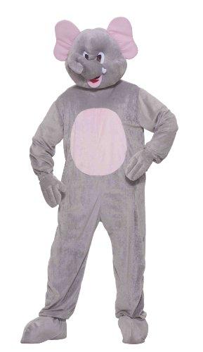 Forum Novelties Halloween Party Creepy Scary Costume Ernie The Elephant (Elephant Mascot Costume)