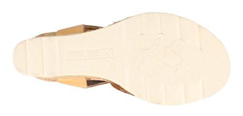 High Wedge Sandals W3L Pikolinos Brandy Women's Heel 0952 Bali ZwpHq