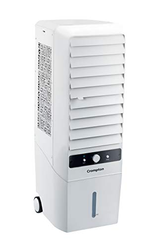 Crompton Greaves Mystique Turbo 22-Litre Tower Cooler (White)
