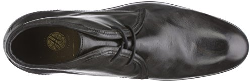 H Shoes LYDON, Stivali Chukka Uomo Nero (Black)