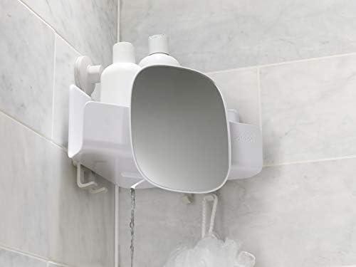 Joseph Joseph Easy Store Corner Shower Shelf with Detachable Mirror   eBay