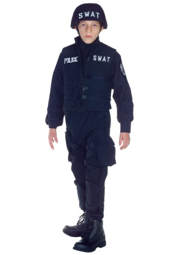 (Swat Costume Size: Small)