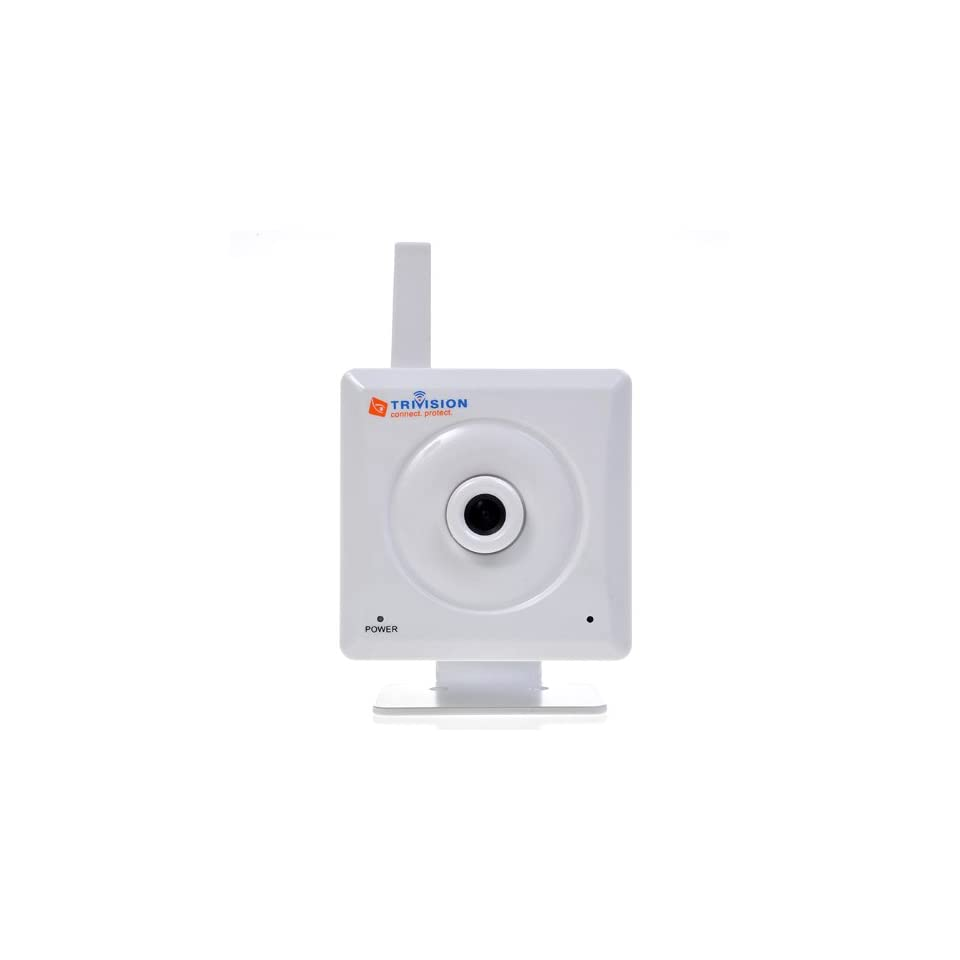 TriVision Indoor / Home Wired Wireless IP Camera with Motion Detect FTP Alarm Audio Email Alert Phone Alert