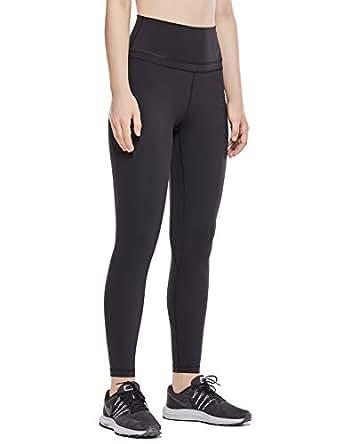 CRZ YOGA Women's Naked Feeling High Waist Yoga Pants Workout Leggings Pocket Black-25'' M(8/10)