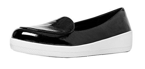 Black Brevetto Fitflop Sneakerloafer Scarpe Nero 7HpBn