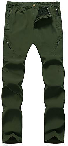 Singbring Outdoor Windproof Waterproof Hiking Mountain Pants for Men Women