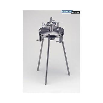 Advantec MFS 302200 KS142ST Model Sanitary Pressure Filter Holder 142 mm Diameter Inc 1182R83EA