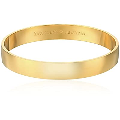 New Kate Spade New York Womens Idiom Bangles Solid Gold for cheap
