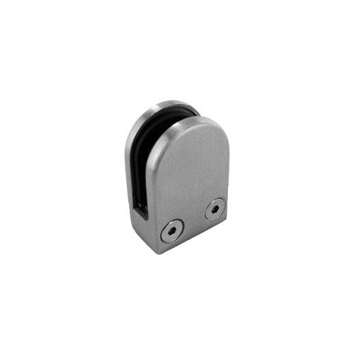 - Lavi Industries 40-816FM Polished Stainless Steel Mini Glass Clip Flat. 1