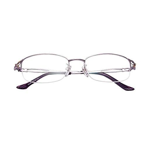 Unisex Light Resin Metal Frame Reading Glasses +1.0 - 2