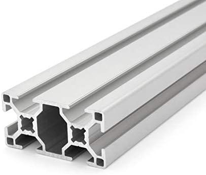 scanalatura da 8 mm Profilo in alluminio da 30/x 30 mm,/tipo B taglio da 50 a 2000/mm