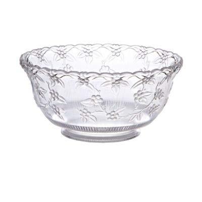 Crystalware Maryland Plastics Small Punch Bowl, 8 quart, -