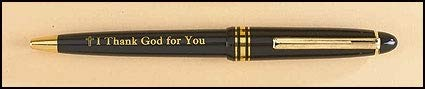 US Gifts I Thank God for You Pen – 50/pk by US Gifts (Image #1)