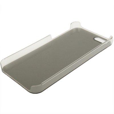"""iPhone 5 / 5S Premium gebürstete Alu-Style-Hülle / Case / Cover in schwarz im """"Clean-Style"""" -Original nur von THESMARTGUARD-"""