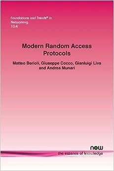 Torrent Para Descargar Modern Random Access Protocols (foundations And Trends (r) In Networking) Mega PDF Gratis