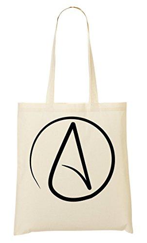 Atheism Insignia Bolso De Mano Bolsa De La Compra
