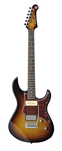 Yamaha Pacifica PAC611VFM TBS Solid-Body Electric Guitar, Tobacco Brown Sunburst