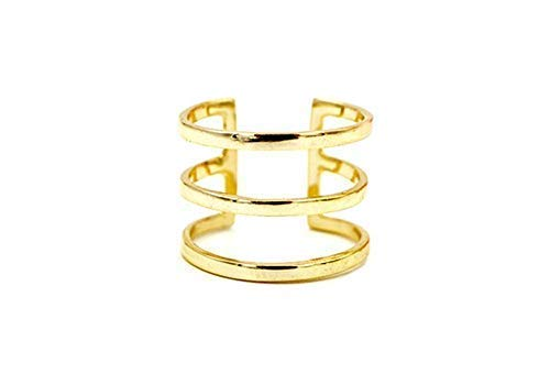Amanda Deer Three Bar Ring - Iii Bar Ring