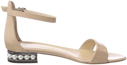 Fersengold Sandali con Cinturino Alla Caviglia Donna Beige (Nude)