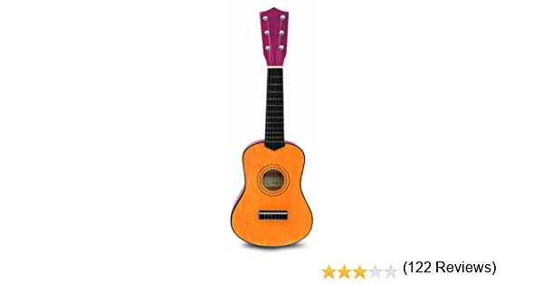 Bontempi - Guitarra En Madera de 55 cm (GSW 55/N): Amazon.es ...