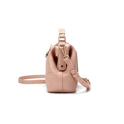 Bag Type main à mode Sac Quincaillerie Doctor de Exquise épaule Serrures Sauvage Doctor Joker sacs Mode Messenger Compact Bag Pink Messenger q1HHwUC