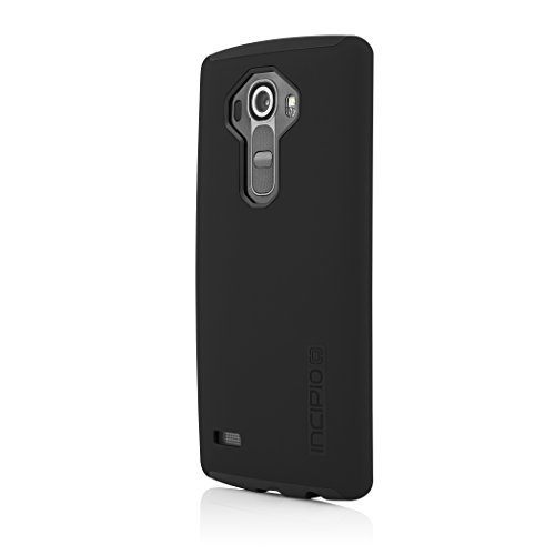 LG G4 Case, Incipio [Shock Absorbing] DualPro Case for LG G4-Black/Black