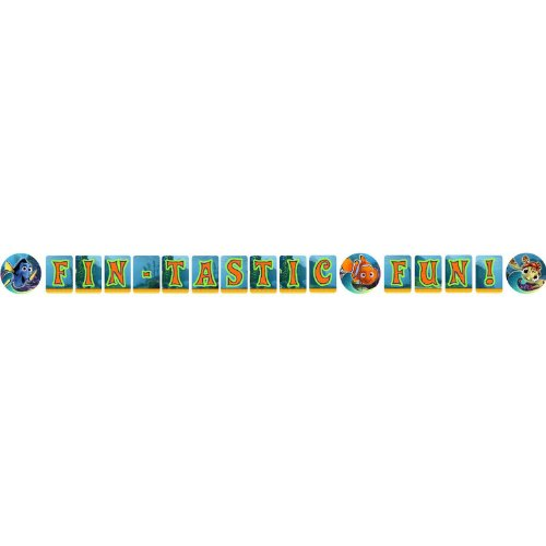 Finding Nemo Banner (Finding Dory and Finding Nemo Letter Birthday Party Banner,