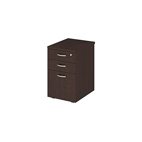 Easy Office 16W Mobile File Cabinet in Mocha Cherry by Bush Business Furniture
