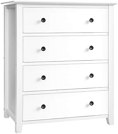 VASAGLE 4-Drawer Dresser Chest of Drawer
