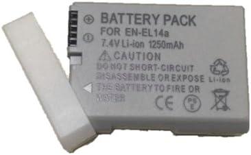 BC139→Nikon EN-EL14a COOLPIX P7000 P7100 互換バッテリ-