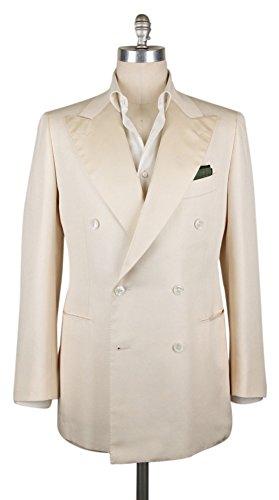 Cesare Attolini New Cream Sportcoat (Cream Silk Blazer)