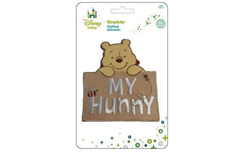 Wrights Disney Winnie The Pooh My Hunny Iron-On Applique