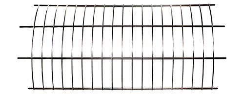 OneGrill Performer Series Kamado Grill Fit Rotisserie Spit Rod Basket; Stainless Steel Tumble & Flat Basket in One. (Fits 5/16 Inch Square Spits) by OneGrill BBQ Products (Image #5)