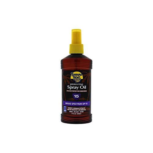 (Banana Boat Protective Spray Oil, Sunscreen SPF 15 8 oz)